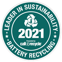 Leader in Sustainability 2020 - Call2Recycle Canada